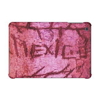 Pink Carved Mexico Tree Graffiti iPad Mini Retina Case
