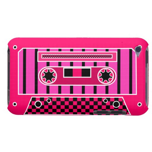 Pink Cassette Tape iPod Touch Case-Mate Case