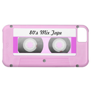 Pink Cassette Tape iPhone 5C Case