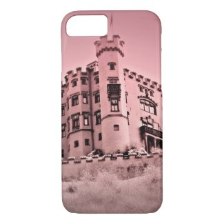 Pink Castle Cell Phone Case