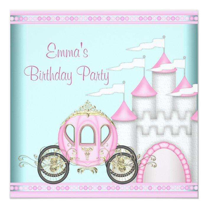 Pink Castle S Princess Birthday