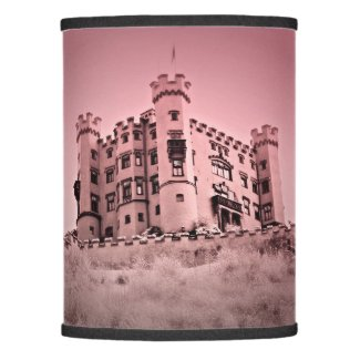 Pink Castle Lamp Shade