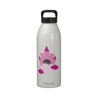 Pink Castle Drinking Bottles