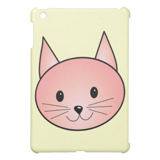Pink Cat. Adorable kitty. iPad Mini Cases