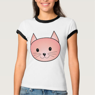 Pink Cat. Adorable kitty. T-Shirt