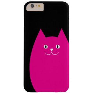 Pink Cat Barely There iPhone 6 Plus Case