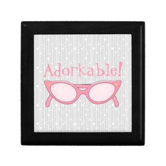 Pink Cat Eye Glasses - Personalize It Gift Box