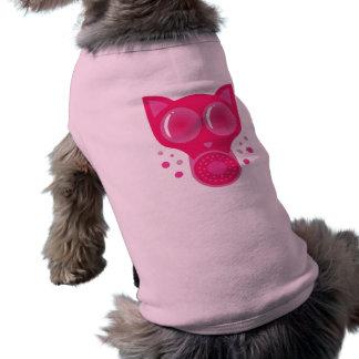 Pink Cat Gas Mask Shirt