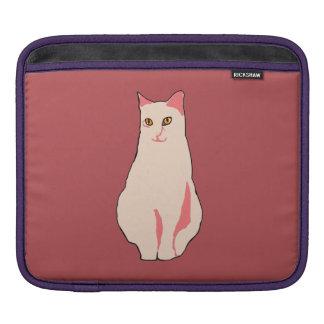Pink Cat iPad Sleeve