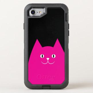 Pink Cat OtterBox Defender iPhone 8/7 Case