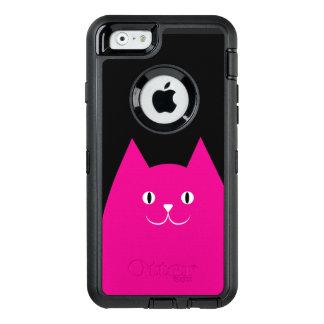 Pink Cat OtterBox Defender iPhone Case