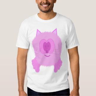 Pink Cat Pom Pom Pal T-shirt