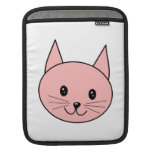 Pink Cat Sleeves For iPads