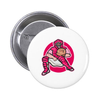 Pink Catcher Button