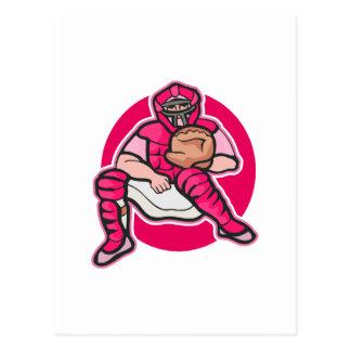 Pink Catcher Postcard