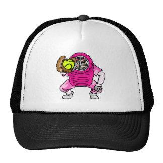 Pink Catcher Trucker Hat