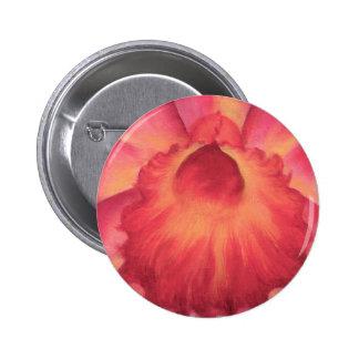 Pink Catleya Orchids Art - Multi Button