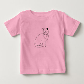 pink cats baby T-Shirt