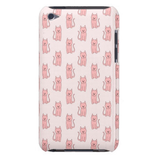 Pink Cats. Pattern Barely There iPod Cover