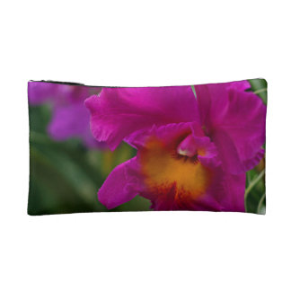 Pink Cattleya Orchid Cosmetic Bag