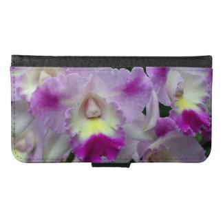 Pink Cattleya Orchid Samsung Galaxy S6 Wallet Case