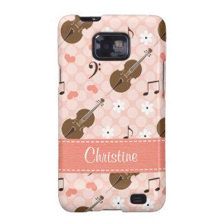 Pink Cello Samsung Galaxy S Case Cover