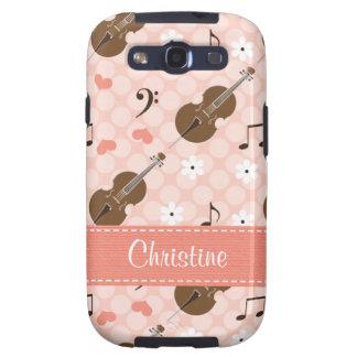 Pink Cello Samsung Galaxy SIII Case