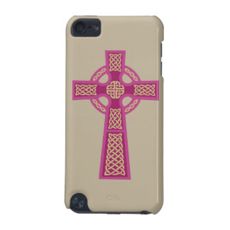 Pink Celtic Cross iPod Touch Case