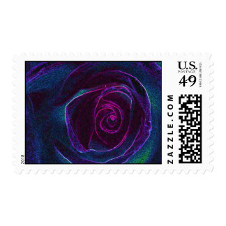 pink center, S Cyr Postage Stamps