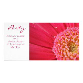 Pink Centre, Party, Your are invited to a Garde... Card