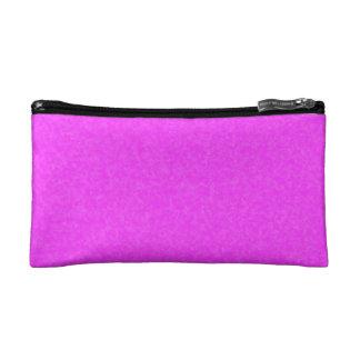 Pink Cerise Fuschia Cosmetic Makeup Bag