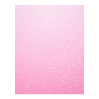 Girly Pink Background Flyers & Programs | Zazzle