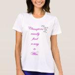 pink champion win ComfortSoft Tennis T-Shirt