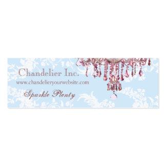 Pink Chandelier Business Card