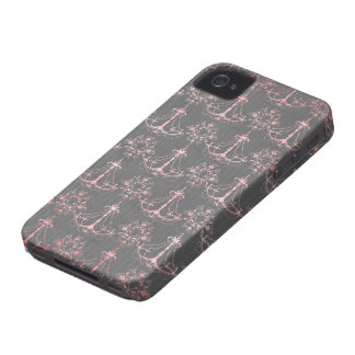 pink chandelier damask on deep gray blackberry bold covers