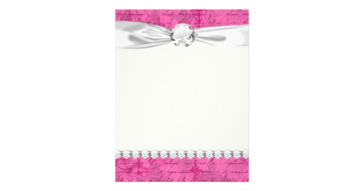 pink chandelier vintage writing background flyer zazzle background pink chandelier
