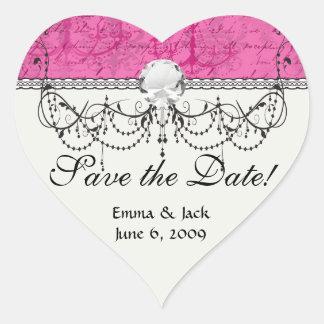 pink chandelier vintage writing background heart sticker