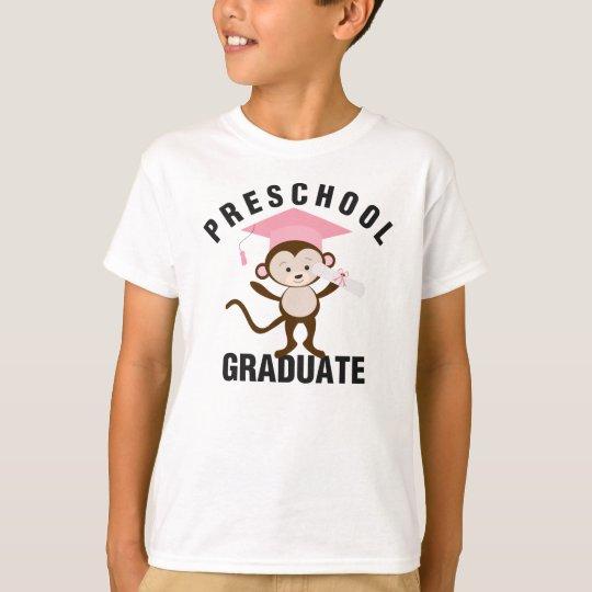 Pink & Charcoal | Preschool Graduate Tee
