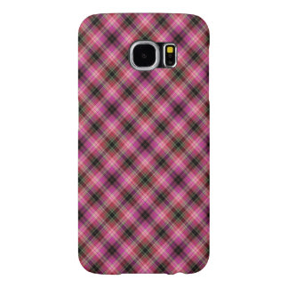 Pink checked Case