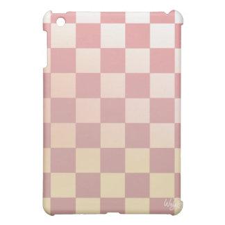 Pink Checkered iPad 1 Case iPad Mini Case