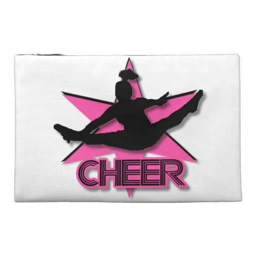 Pink Cheer Travel Accessories Bags