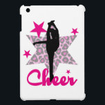 """Pink Cheerleader Case For The iPad Mini<br><div class=""""desc"""">add text or upload your own image</div>"""