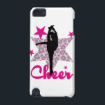 "Pink Cheerleader iPod Touch 5G Case<br><div class=""desc"">add text or upload your own image</div>"