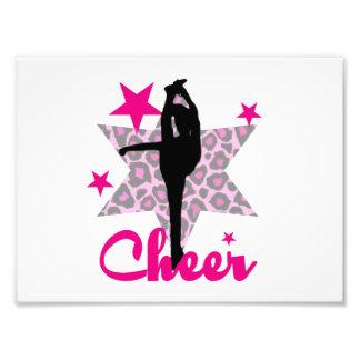 Pink Cheerleader Photo