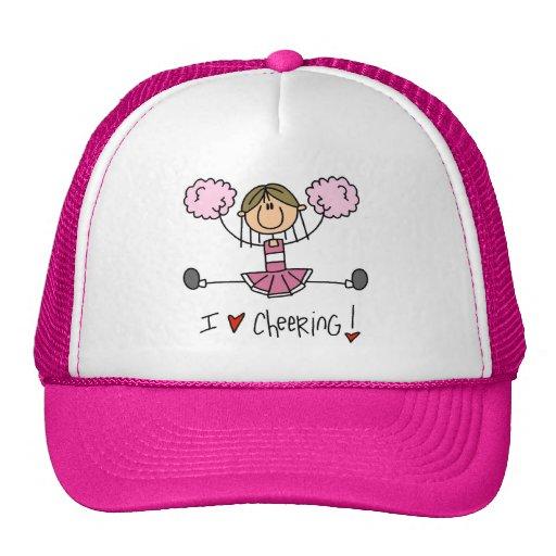 Pink Cheerleader Tshirts and Gifts Hat