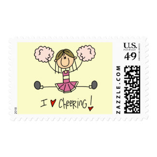 Pink Cheerleader Tshirts and Gifts Postage