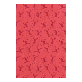 Pink cheerleading pattern queork photo prints