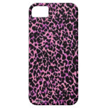 Pink Cheetah Pattern iPhone 5 Cover