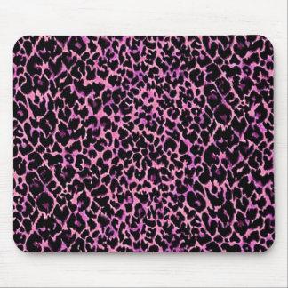 Pink Cheetah Pattern Mouse Pad