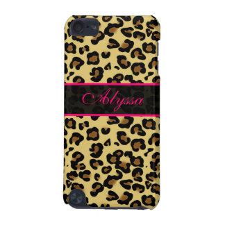 Pink Cheetah Print Personalized Phone Case